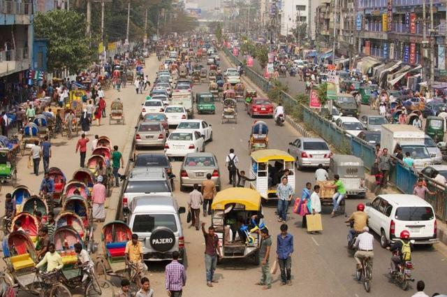 世界上最拥挤的首都,面积只有中国一个村子大,却住着1400多万人