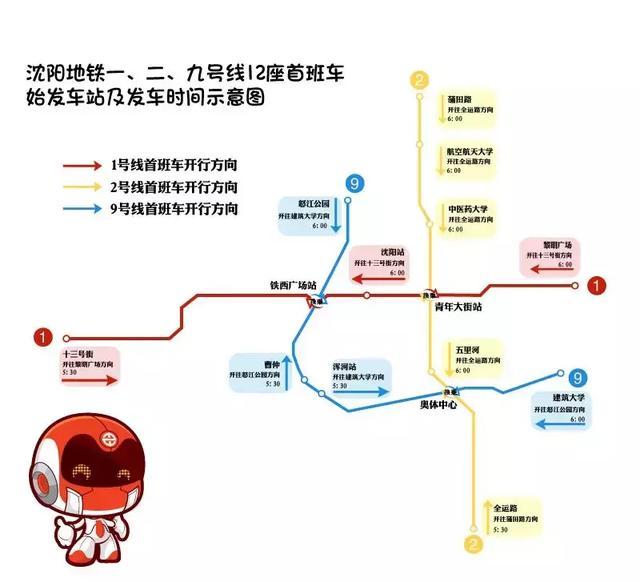 权威发布!沈阳地铁九号线5月25日开通!首末车时间、票价、站点信息全都在这!