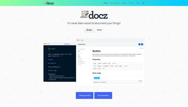 程序员专属,记录笔记、文档、知识库的专属伙伴!——docz
